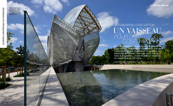 Visite privée de la fondation Vuitton